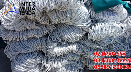 Supplier Jaring Polypropylene - Jaring Tambang Nilon
