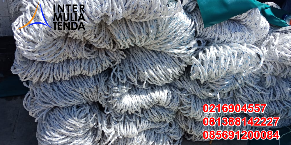 Supplier Jaring Polypropylene - Jaring Tambang Nilon